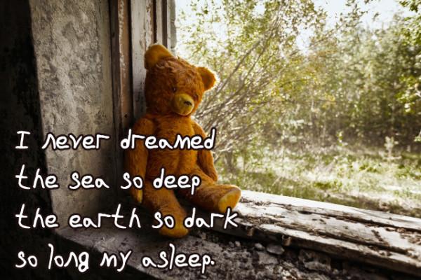 I Never Dreamed The Sea So Deep