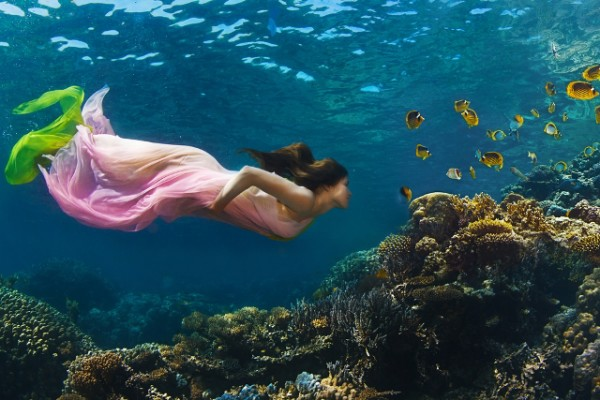 beauty underwater