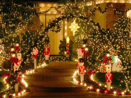 decoration in christmas