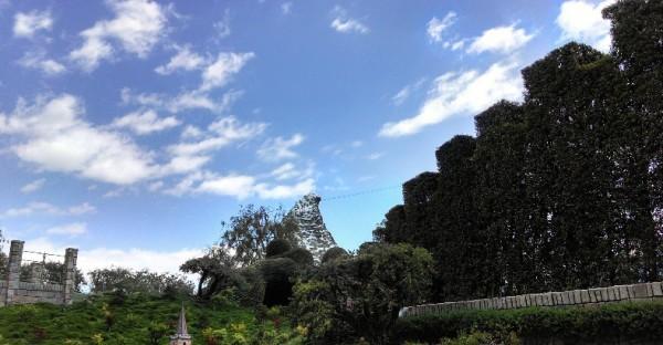 nature view in disneyland