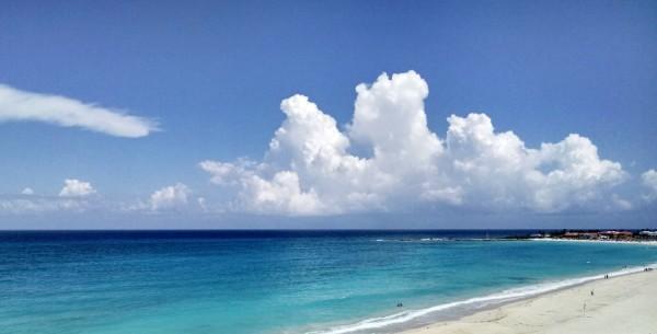 nice cancun beach view