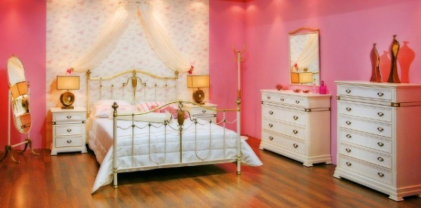 Marvelous Pink Theme Bedroom