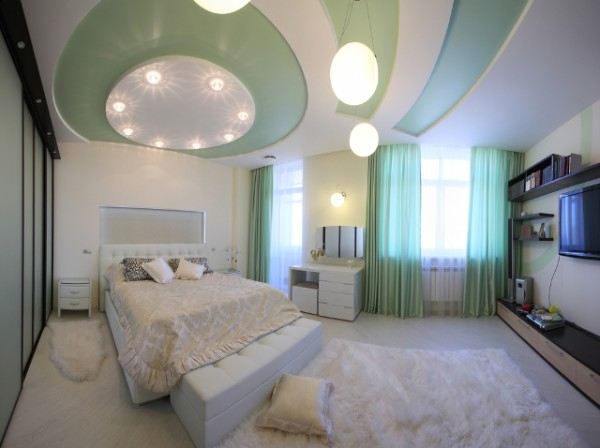 Turquoise Bright Bedroom