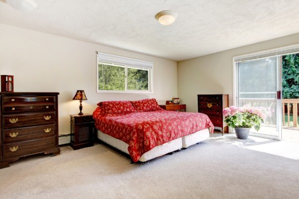 Large Simple Bedroom Design
