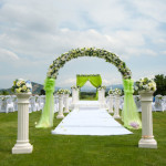 25 Outdoor and Beach Wedding Ceremonies Ideas
