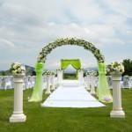 25 Outdoor and Beach Wedding Ceremonies Ideas