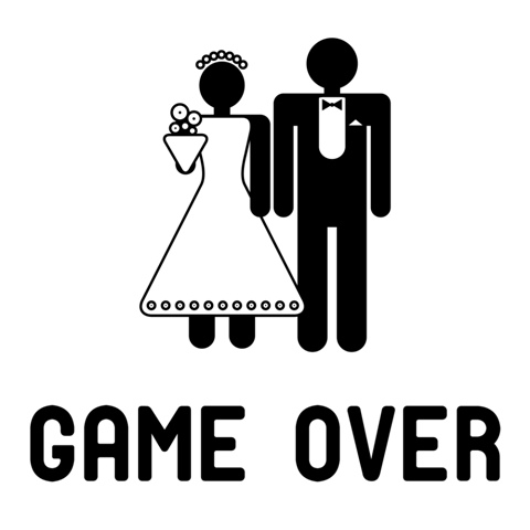 marriage is game over