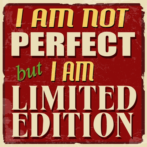 I am Limited Edition Sign