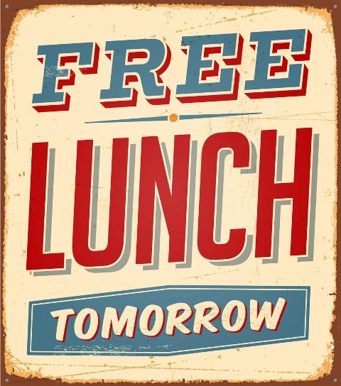 free lunch tomorrow
