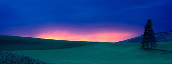 Sun set photo cover