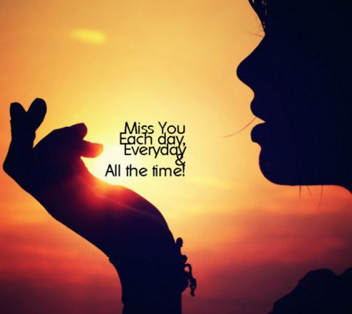 best missing you lovely quote