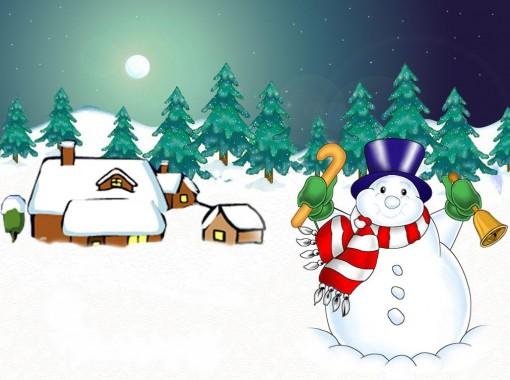 snowman wallpaper